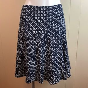3/$27 Ralph Lauren Abstract Floral Knit Skirt